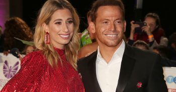 STacey Solomon and Joe Swash at the Pride of Britain 2018
