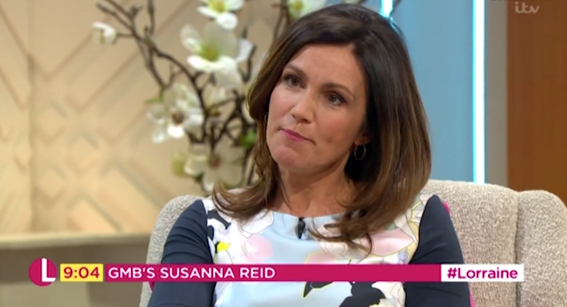 Susanna Reid reveals early GMB starts made her 'pile on' weight