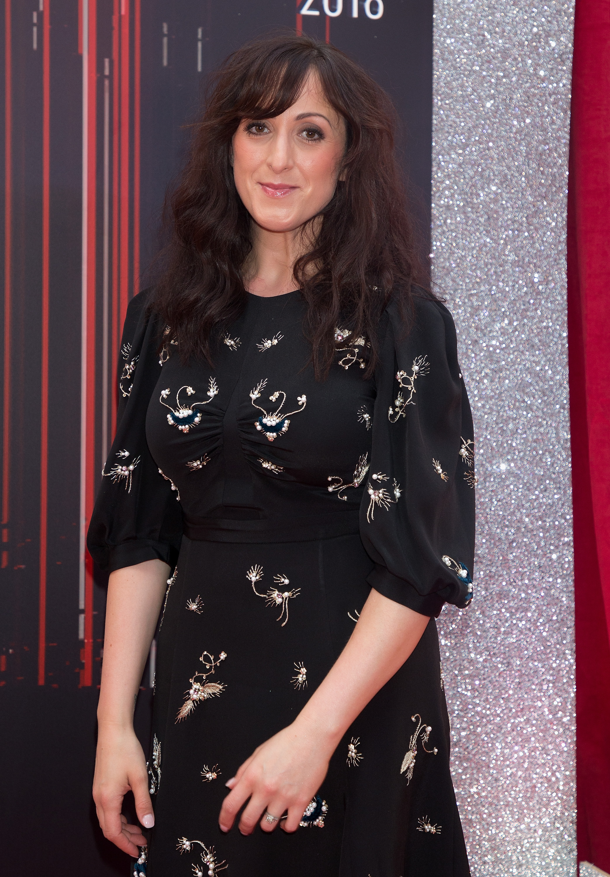 Natalie Cassidy on the red carpet