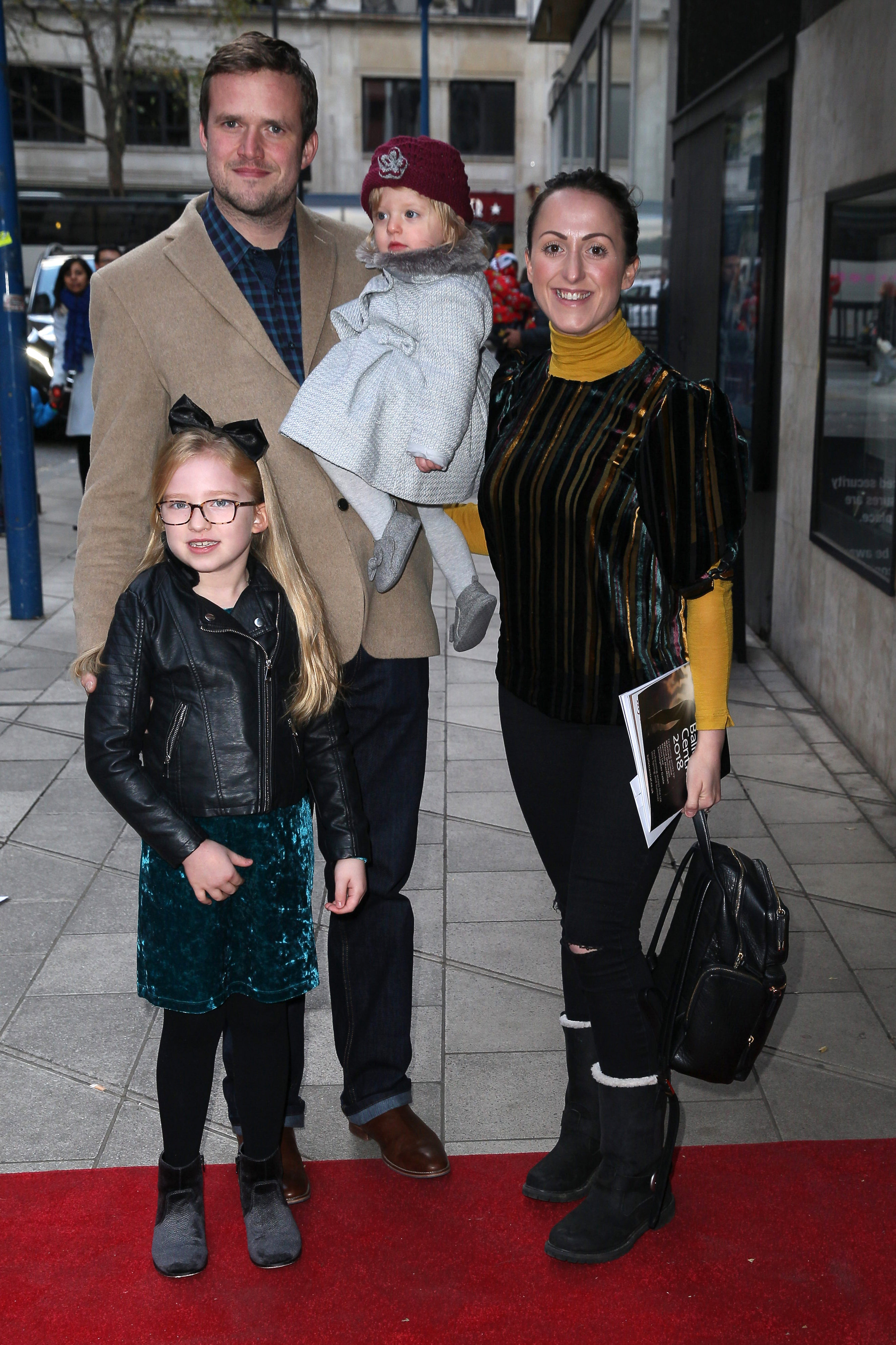 Natalie Cassidy and her family