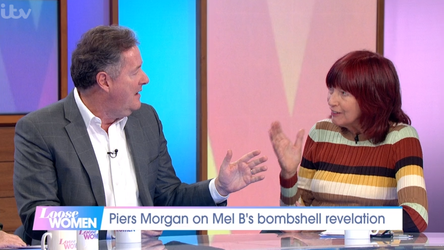 Piers Morgan clashes with Janet Street Porter before asking her very intimate question