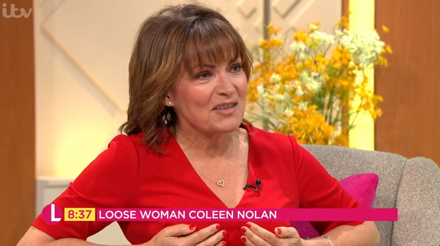 Lorraine Kelly horrifies viewers as she admits she never takes her bra off