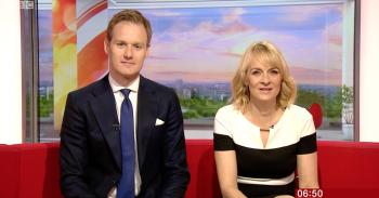 Louise Minchin and Dan Walker BBC Breakfast fatberg