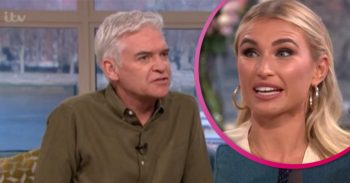Schofe and Billie Faiers pslit pic