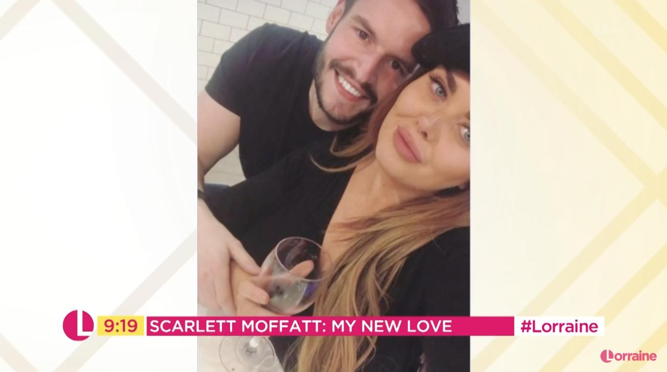 Scarlett Moffatt and boyfriend Scott