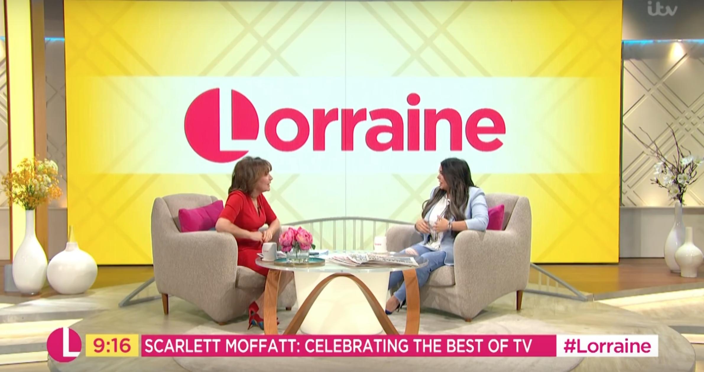 Scarlett spoke to Lorraine about her new man