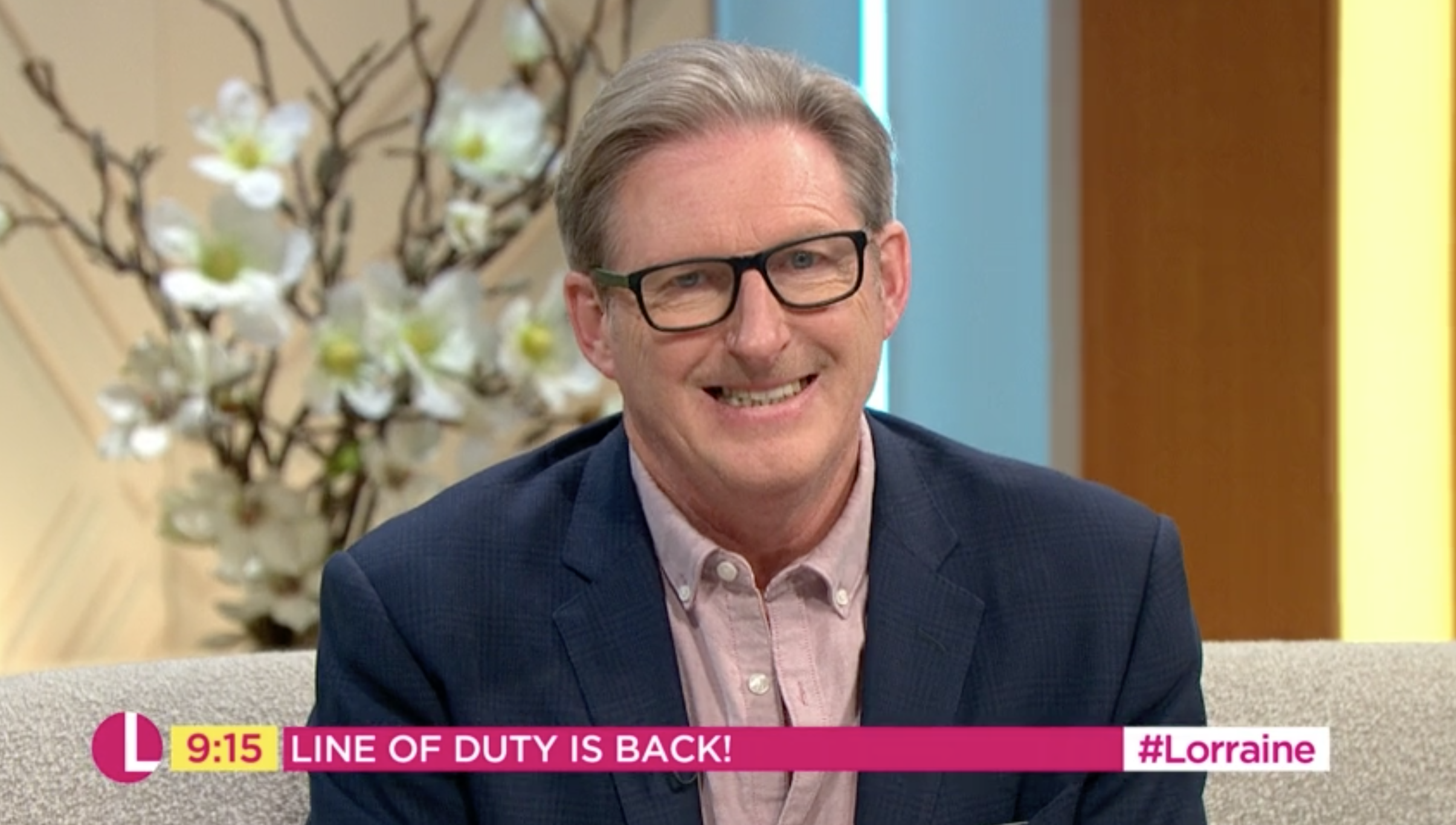 Line Of Duty Ted Hastings on Lorraine