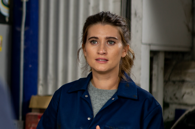 Pregnant Charley Webb confirms she has started maternity leave