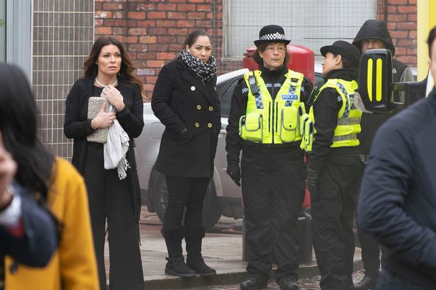Carla Connor factory collapse