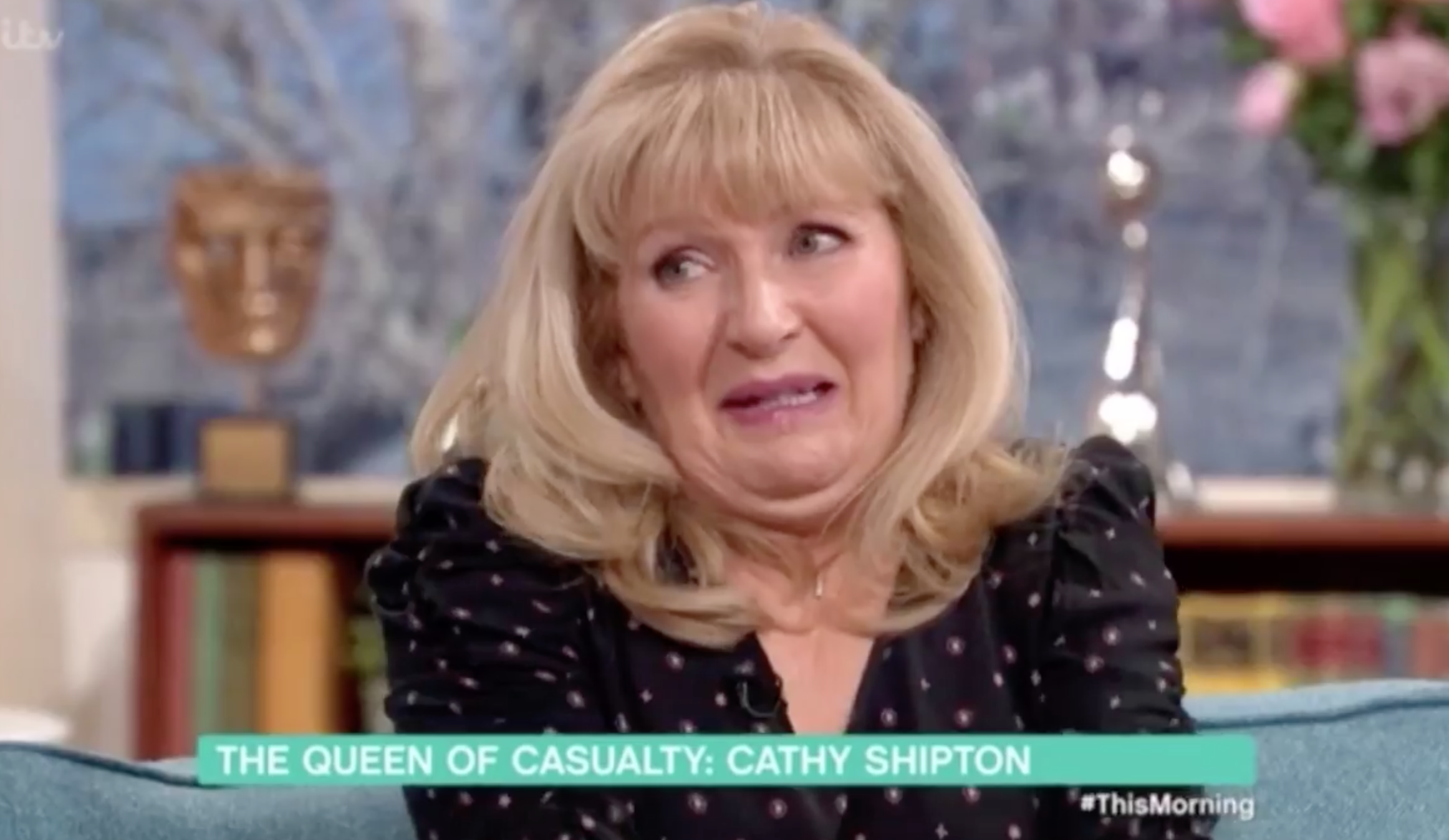 Duffy Cathy Shipton on This Morning with Phillip Schofield