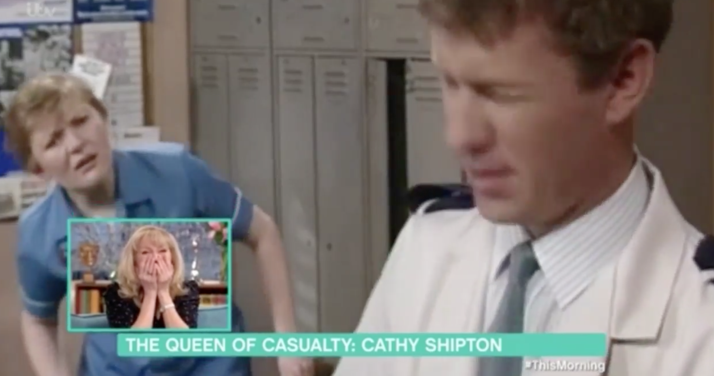 First episode of Casualty Cathy Shipton appeared in