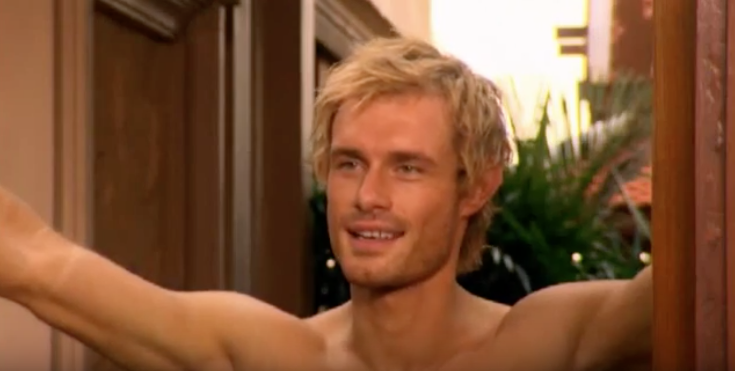Ben Price in Footballers' Wives YouTube