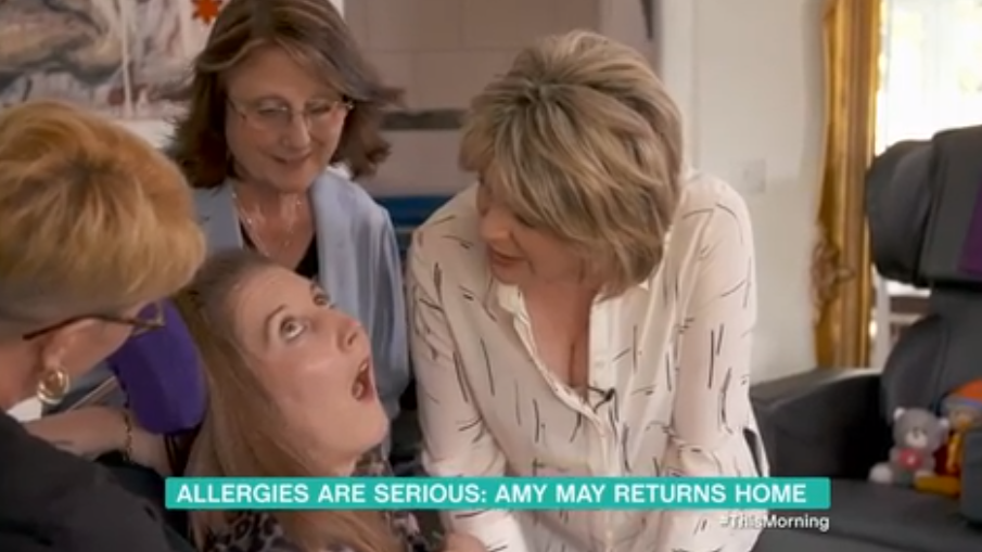 Ruth Langsford has This Morning viewers in tears with visit to brain-damaged former colleague