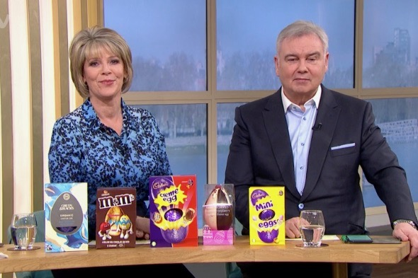 Eamonn Holmes clashes with Alice Beer and Ruth Langsford over diet advice