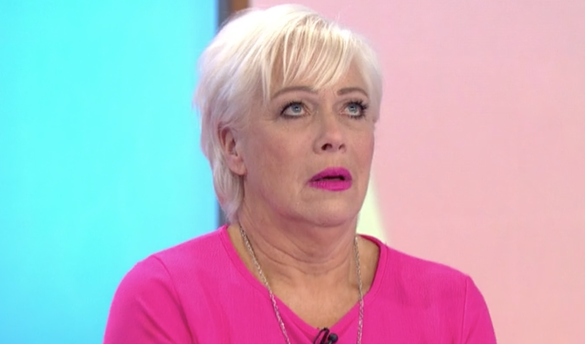 Loose Women's Denise Welch cries at Mother's Day tribute
