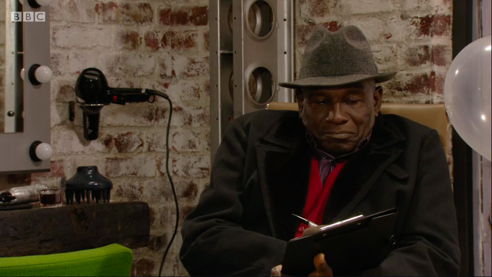 EastEnders viewers LOVED Patrick's Alan Sugar impression