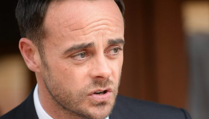 Ant McPartlin admits to naked selfies
