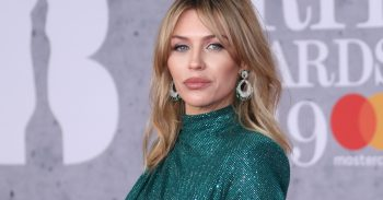 Abbey Clancy at the Brit Awards 2019