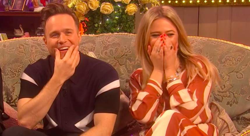 Viewers predict romance for Emily Atack and Olly Murs after TV flirting