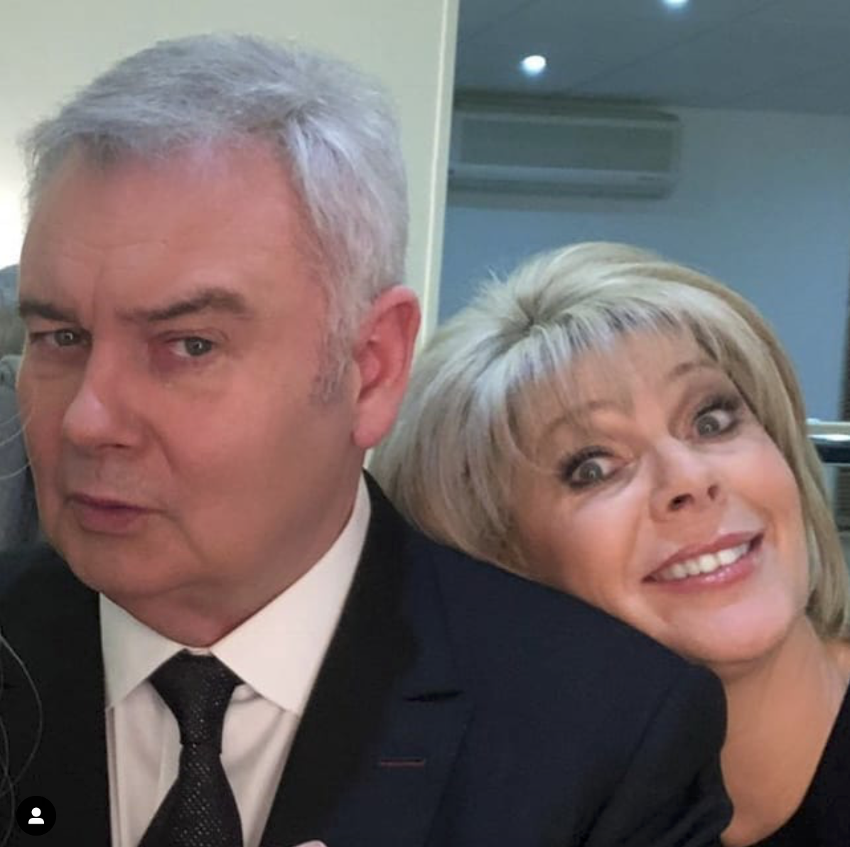 Ruth with her husband Eamonn Instagram
