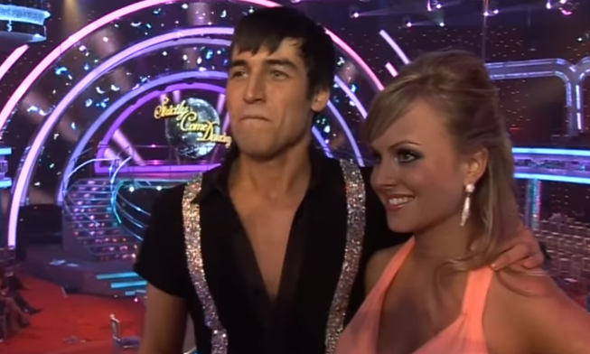 Tina O'Brien Strictly Come Dancing 2010 Credit: YouTube