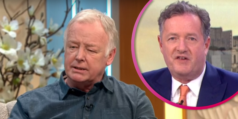 Les Dennis hits back as Piers Morgan reignites feud after GMB 'ban'