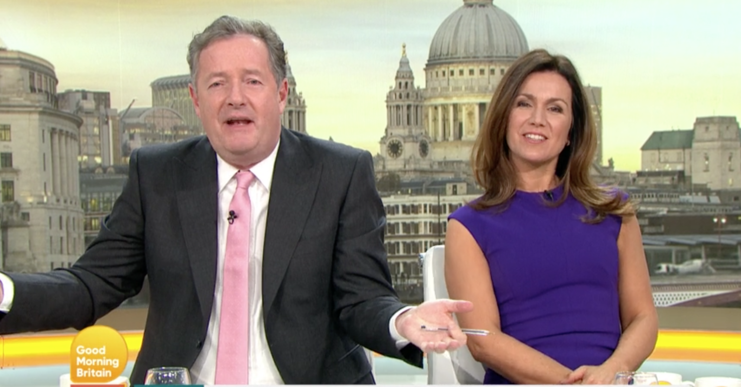 Piers Morgan forced to apologise for repeating 'rude' word on GMB