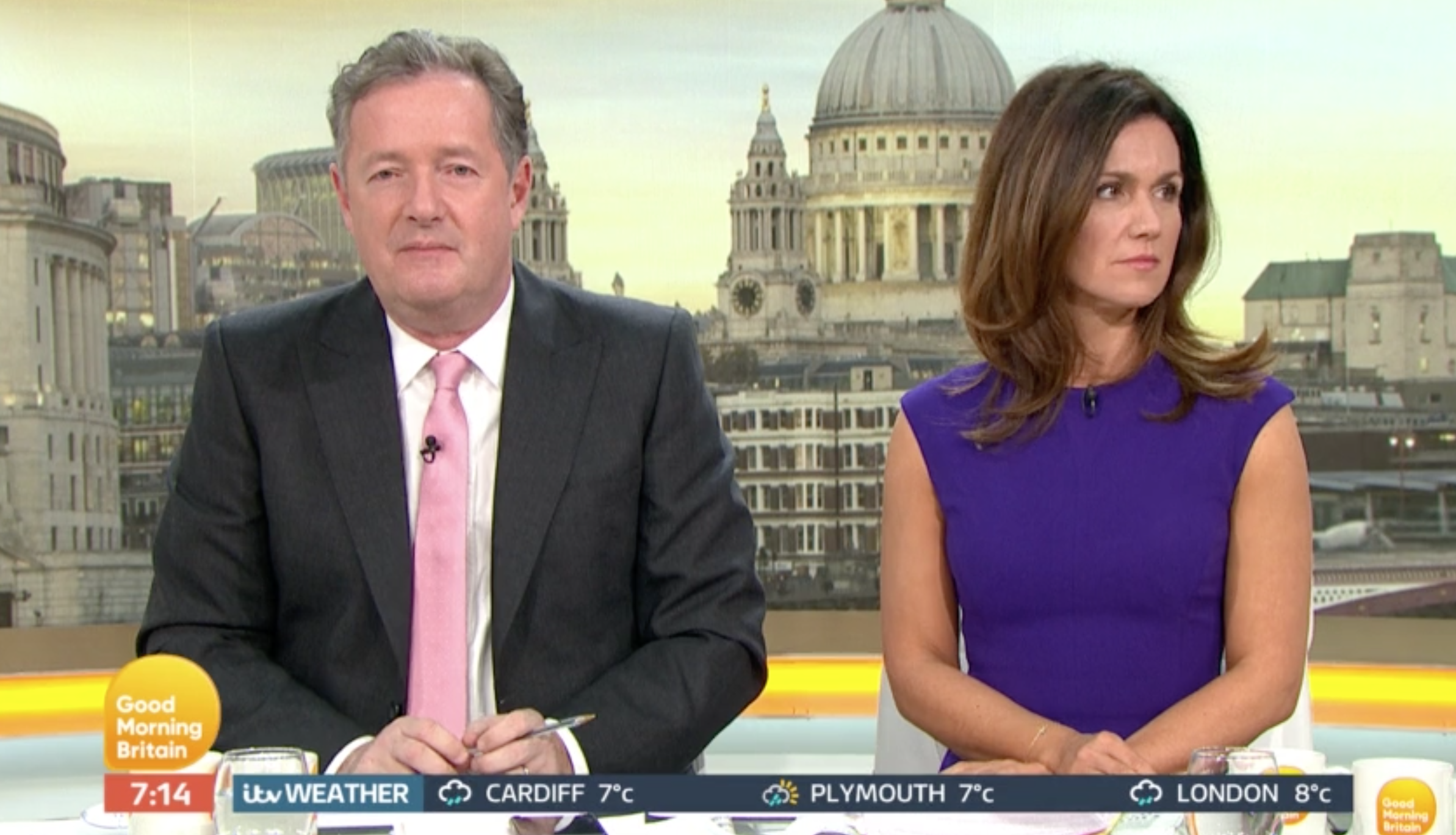 Susanna and Piers GMB