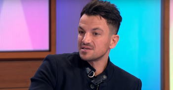 Peter Andre (Credit: Loose Women YouTube)