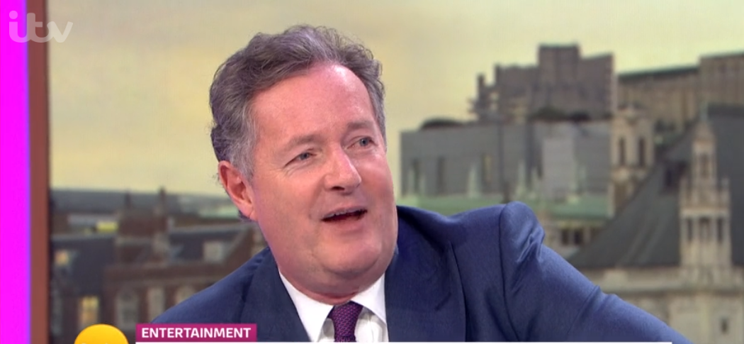 Piers Morgan left red-faced as he accuses GMB bosses of fat-shaming him