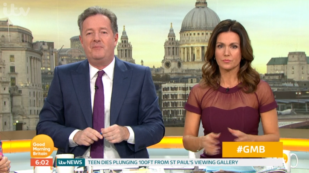 GMB fans unimpressed as Piers Morgan's replacement for next week is revealed