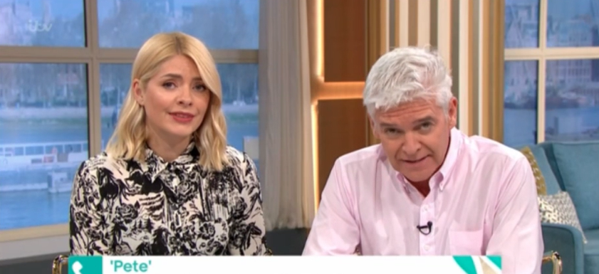 Holly Willoughby wells up as she offers support to sexual abuse victim
