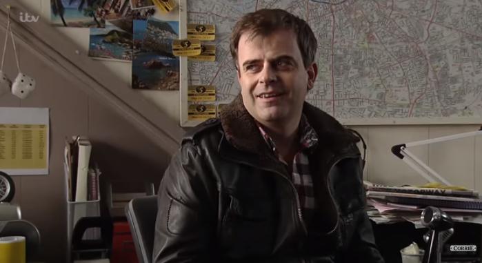 Steve at Streetcars Corrie: ITV