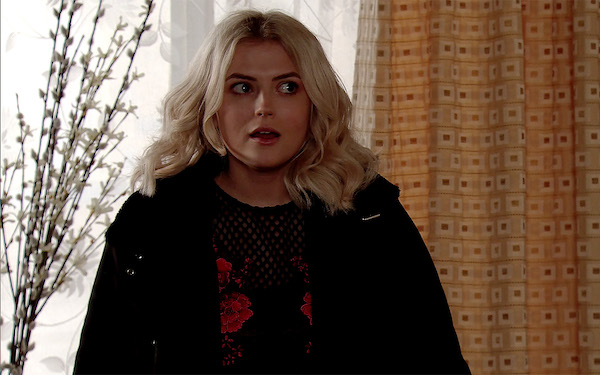 Lucy Fallon says she is 'scared' over decision to quit Corrie
