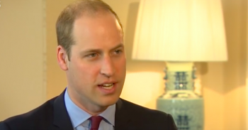 Prince William interview by BBC News