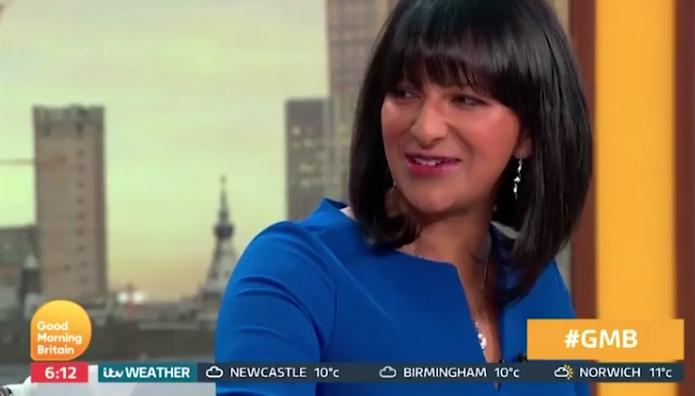 Good Morning Britain's Ranvir Singh hints she ditched husband after checking his phone