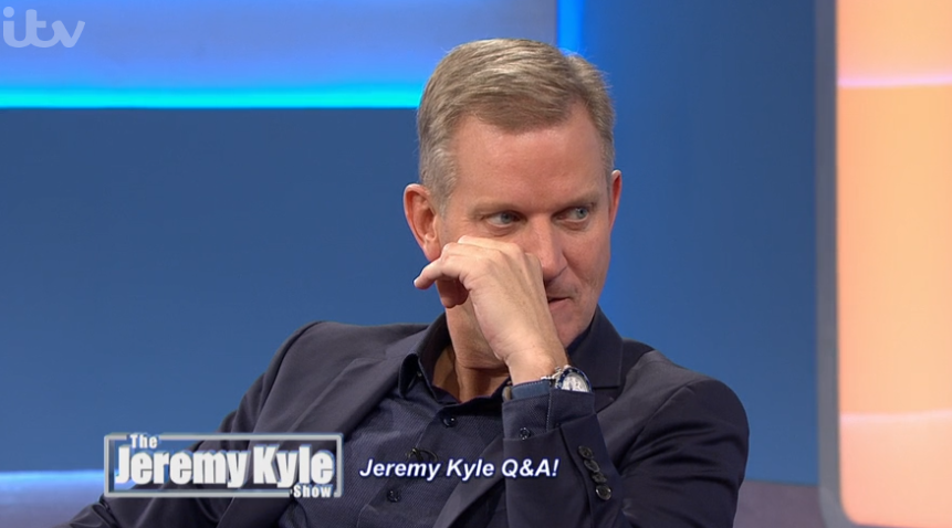 Jeremy Kyle on his talk show
