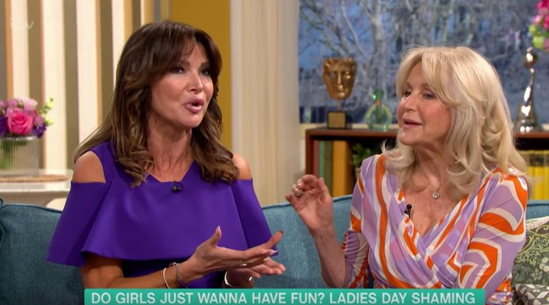 "This Morning viewers irate as woman slams ladies at Aintree ""flashing their bits"""