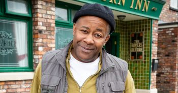 FROM ITV STRICT EMBARGO - No Use Before 0001hrs Saturday 06/04/19 Coronation Street New Bailey Family Dad Edison Bailey (Trevor Michael Georges) Mum Aggie Bailey (Lorna Laidlaw) Older son Michael Bailey (Ryan Russell) Yellow Jacket Younger son James Bailey (Nathan Graham). Picture contact - David.crook@itv.com Photographer - Mark Bruce This photograph is (C) ITV Plc and can only be reproduced for editorial purposes directly in connection with the programme or event mentioned above, or ITV plc. Once made available by ITV plc Picture Desk, this photograph can be reproduced once only up until the transmission [TX] date and no reproduction fee will be charged. Any subsequent usage may incur a fee. This photograph must not be manipulated [excluding basic cropping] in a manner which alters the visual appearance of the person photographed deemed detrimental or inappropriate by ITV plc Picture Desk. This photograph must not be syndicated to any other company, publication or website, or permanently archived, without the express written permission of ITV Picture Desk. Full Terms and conditions are available on www.itv.com/presscentre/itvpictures/terms