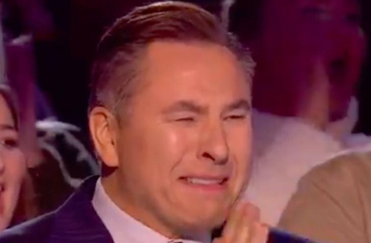Emotional David Walliams pressed his golden buzzer in returning episode of BGT
