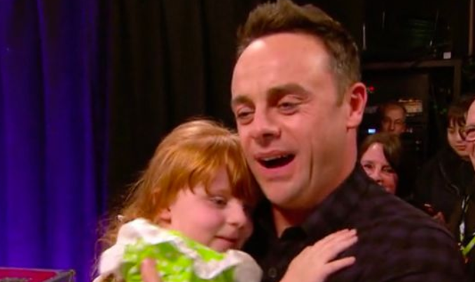 Britain's Got Talent viewers shed a tear as little girl says she missed Ant