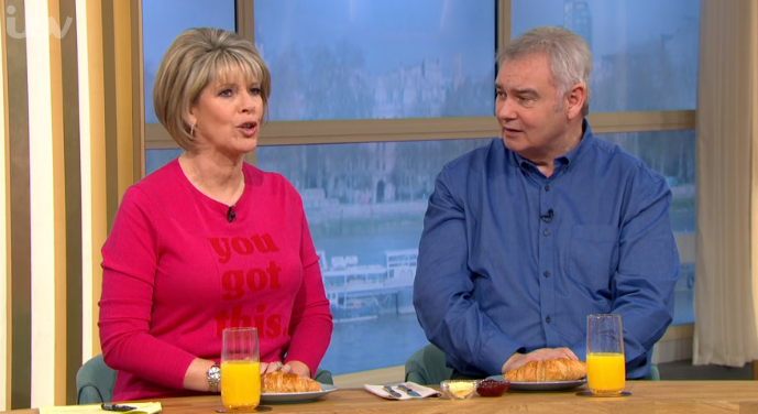 Eamonn Holmes and Ruth Langsford bicker on This Morning over how to pronounce leprechaun