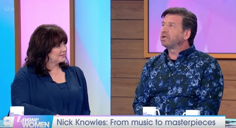 Coleen Nolan flirts with Nick Knowles and hints she wants a date