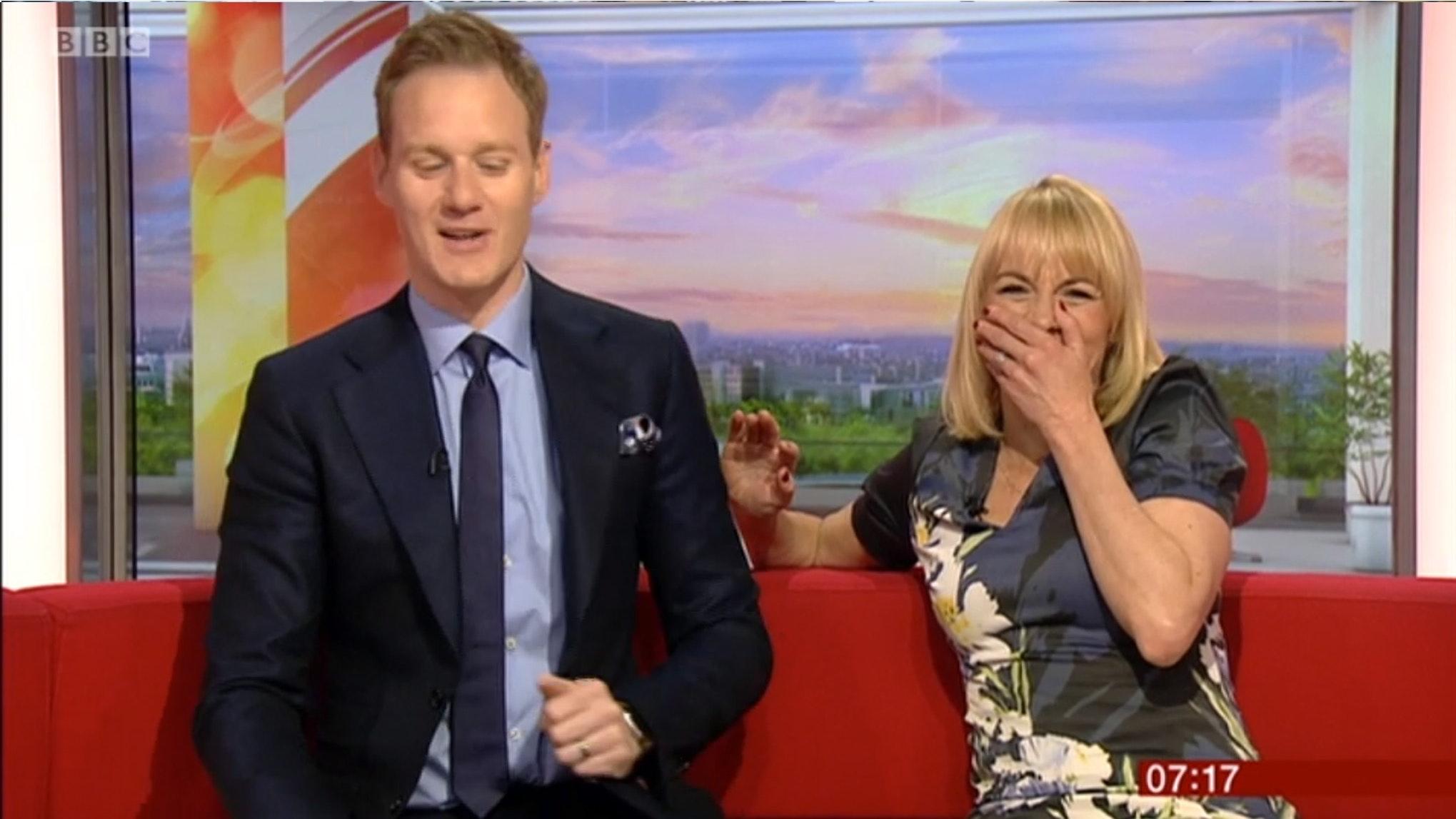 "Louise Minchin in ""so embarrassing"" BBC Breakfast live gaffe"