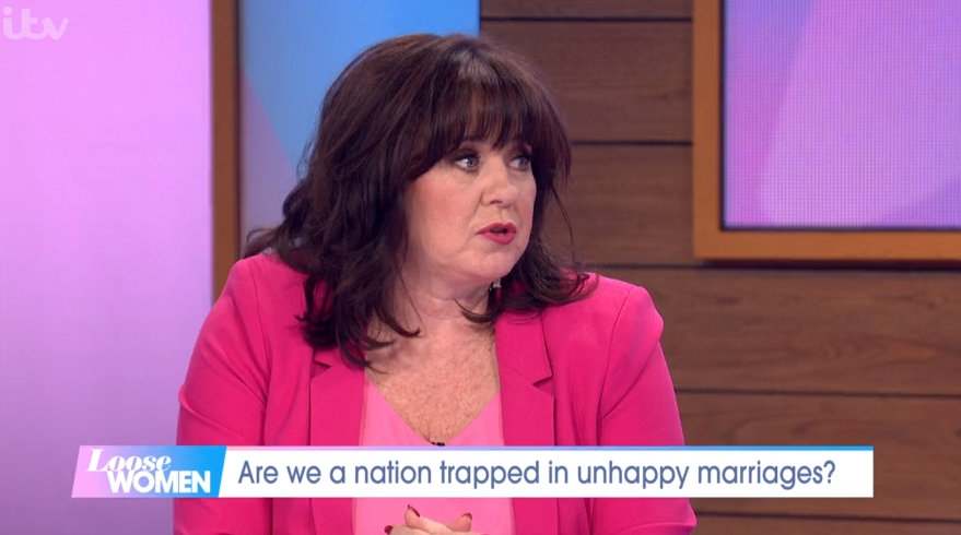 Coleen Nolan feared ex Ray Fensome would be 'offended' over her reason for divorce