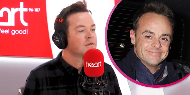 Stephen Mulhern stunned as radio host Jamie Theakston makes joke about Ant McPartlin's driving