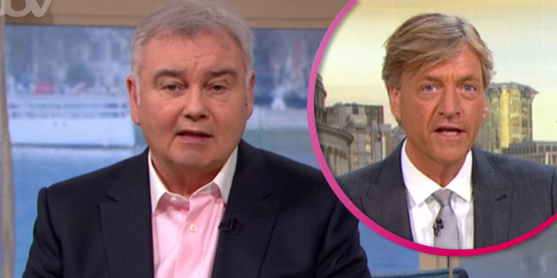 Eamonn Holmes 'throws shade' at Richard Madeley over his 'orange' fake tan fail