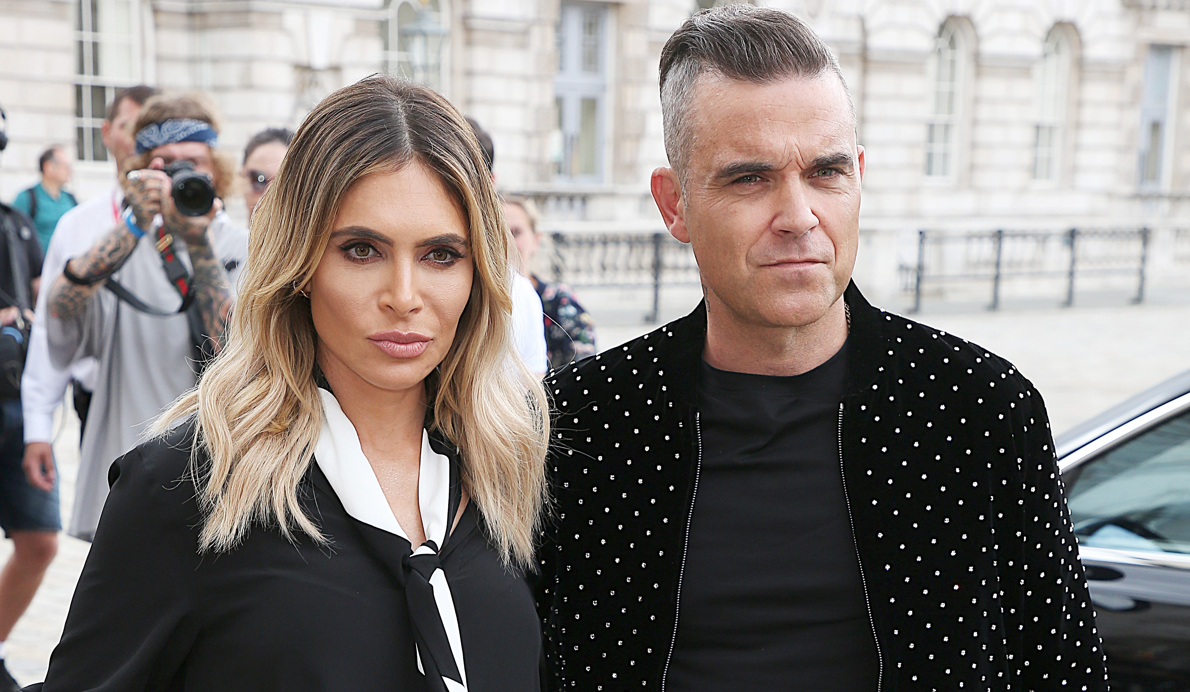 Robbie Williams & Ayda Field Quit The X Factor