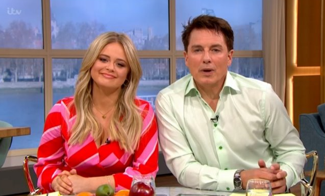 Viewers divided over Emily Atack and John Barrowman's This Morning takeover