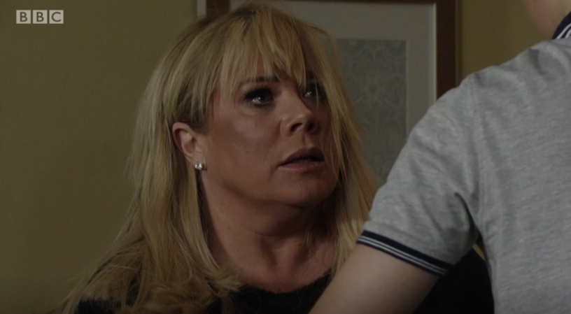 EastEnders fans shocked as Denny punches Sharon